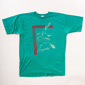 Vintage 90s Bermuda Longtail Bird Graphic T-Shirt