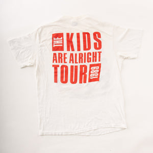 The Who 'The Kids Are Alright' Original 1989 Tour T-Shirt