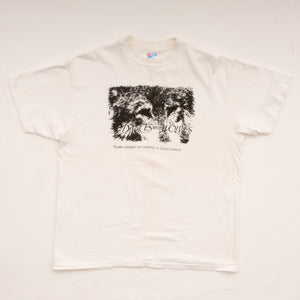 Vintage 90s 'Dances With Wolves' Movie Promo T-Shirt Vintage Goodfair