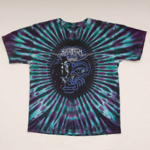 Vintage Y2K Santana 'Embrace Your Light' Tie Dye T-Shirt Vintage Goodfair