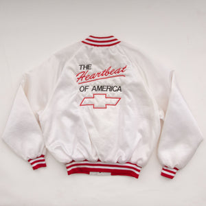 Vintage 80s Chevrolet Employee Jacket Vintage Goodfair