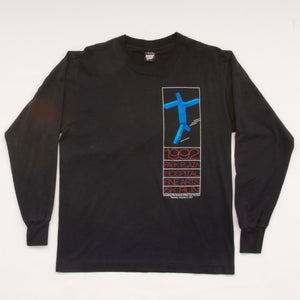 Vintage 1992 Park Plaza Hotel Fun Run Long Sleeve T-Shirt Vintage Goodfair