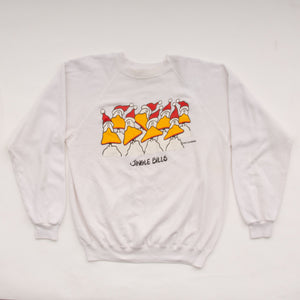 Vintage 1985 'Jingle Bells' Duck Sweatshirt Vintage Goodfair