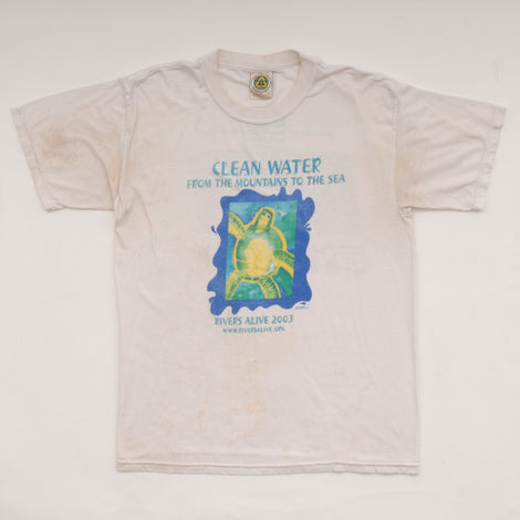 2003 Rivers Alive Clean Water T-Shirt