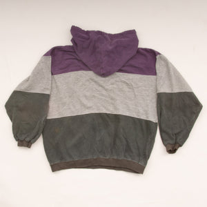 Vintage 90s Color Block Hoodie Vintage Goodfair