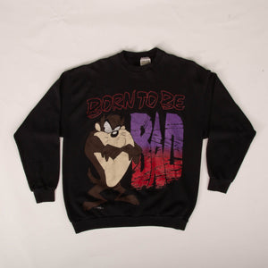 Vintage 90s 'Born To Be Bad' Tazz Sweatshirt Vintage Goodfair