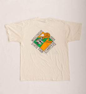 Vintage 90s Wisconsin State Fair T-Shirt Vintage Goodfair