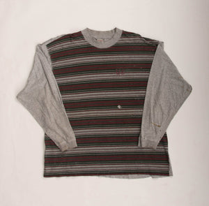Vintage 90s Union Bay Striped Long Sleeve T-Shirt Vintage Goodfair