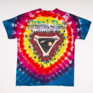 Vintage 90s Grateful Dead 'Space Your Face' Liquid Blue T-Shirt Vintage Goodfair