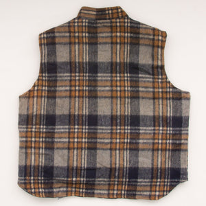 Vintage 80s CPO Plaid/Reversible Vest Vintage Goodfair