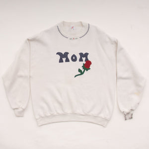 Vintage 90s 'Mom' Embriodered Sweatshirt Vintage Goodfair