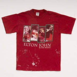 Vintage Y2K Elton John and His Band T-Shirt Vintage Goodfair