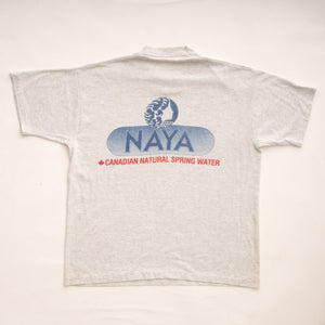 Vintage 90s NAYA Canadian Natural Spring Water T-Shirt