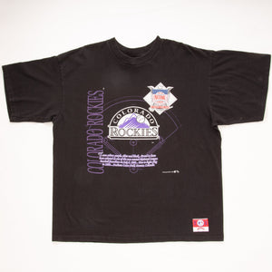 Vintage 1992 MLB Colorado Rockies T-Shirt