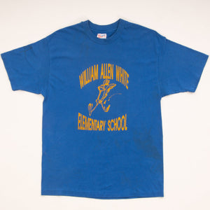 Vintage 90s William Allen White Elementary School T-Shirt Vintage Goodfair