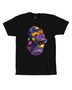 Blue and Yellow Purple Pill Tee