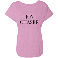 Joy Chaser Triblend Dolman Sleeve (Black Design)