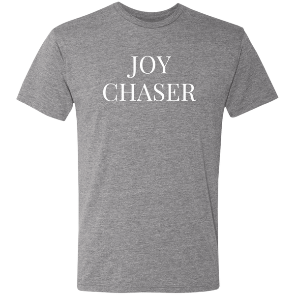 Joy Chaser Triblend T-Shirt (White Design)