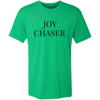 Joy Chaser Triblend T-Shirt (Black Design)