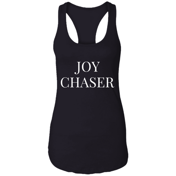 Joy Chaser Racerback Tank (White Design)