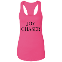 Joy Chaser Racerback Tank (Black Design)