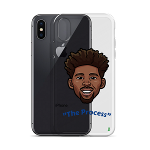 """The Process"" Joel Embiid Big Head iPhone Case"