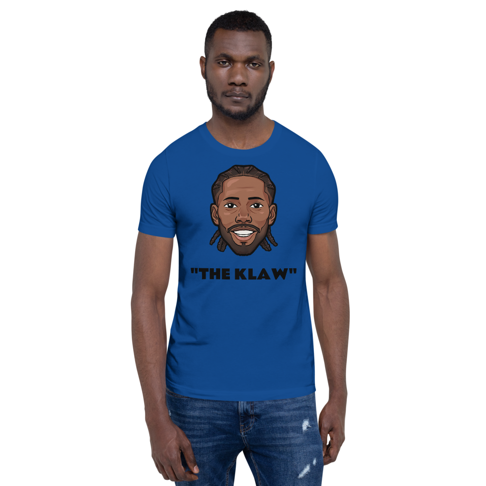 """The KLAW"" Kawhi Leonard Big Head Unisex T-Shirt"