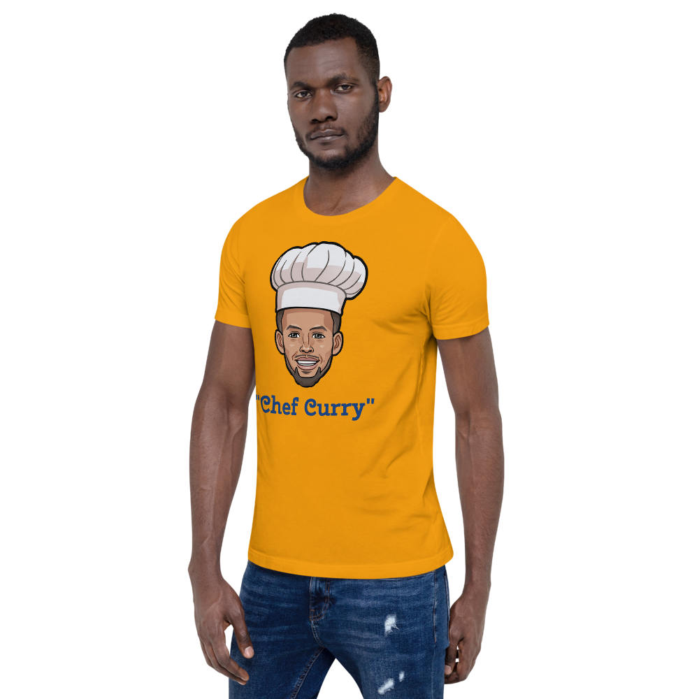 """Chef Curry"" Stephen Curry Big Head Unisex T-Shirt"