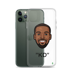 """KD"" Kevin Durant Big Head iPhone Case"
