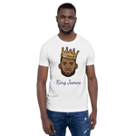 """Kings James"" Lebron James Big Head Unisex T-Shirt"