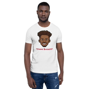 """Jimmy Buckets"" Jimmy Butler Big Head Unisex T-Shirt"