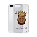 """Kings James"" Lebron James Big Head iPhone Case"