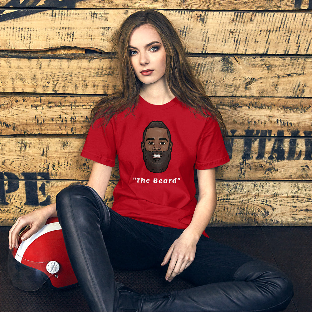 """The Beard"" James Harden Big Head Unisex T-Shirt"