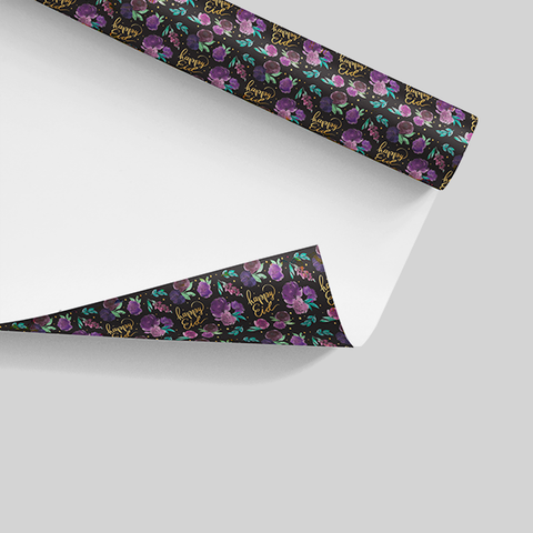 Happy Eid - Wrapping Paper |  not-so-secret garden