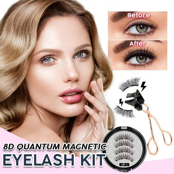 8D Quantum Magnetic Eyelash Kit