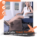 Inflatable Travel Foot Rest Pillow