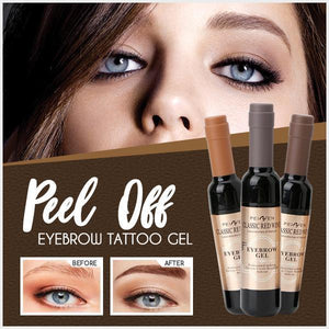 Peel Off Eyebrow Tattoo Gel