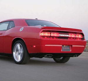 Gibson 08-10 Dodge Challenger SRT8 6.1L 2.5in Cat-Back Dual Exhaust - Stainless
