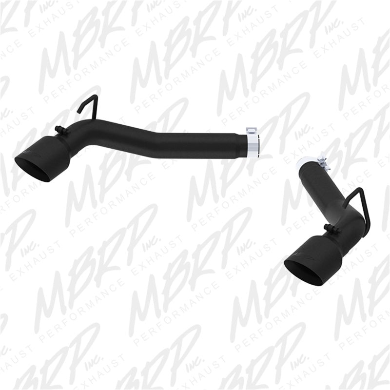 MBRP 2010-2015 Chevrolet Camaro V8 6.2L 3in Black Coated Axle Back Muffler Delete