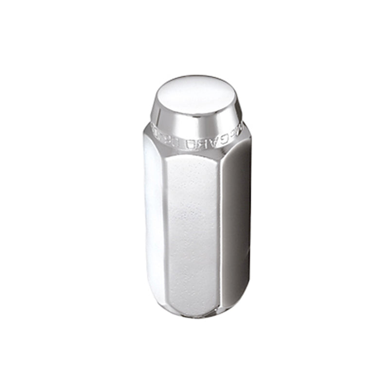 McGard Hex Lug Nut (Cone Seat / Duplex) M14X2.0 / 13/16 Hex / 2.25in. Length (Box of 100) - Chrome