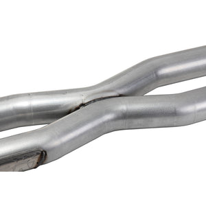 BBK 15-20 Ford Mustang GT 5.0L Resonator Delete X-Pipe (For Use w/Shorties Or Stock Manifolds)