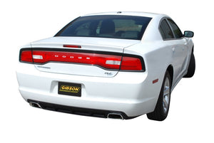 Gibson 14-16 Dodge Charger R/T 5.7L 2.5in Cat-Back Dual Exhaust - Stainless
