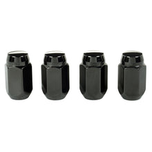 Load image into Gallery viewer, McGard Hex Lug Nut (Cone Seat) 1/2-20 / 13/16 Hex / 1.5in. Length (4-Pack) - Black