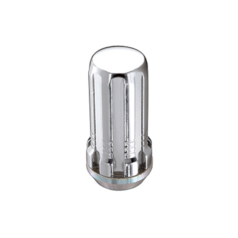 McGard SplineDrive Lug Nut (Cone Seat) 1/2-20 / 1.60in. Length (4-Pack) - Chrome (Req. Tool)
