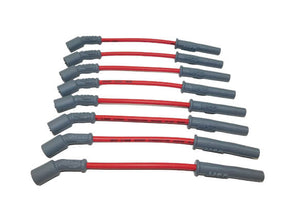 SUPER CONDUCTOR SPARK PLUG WIRE SET, 1999 LS-1 TRUCK ENGINES For use on 1999 LS1 Truck Engines, Red jacket