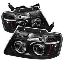 Load image into Gallery viewer, Spyder Ford F150 04-08 Projector Headlights Version 2 LED Halo LED Blk PRO-YD-FF15004-HL-G2-BK