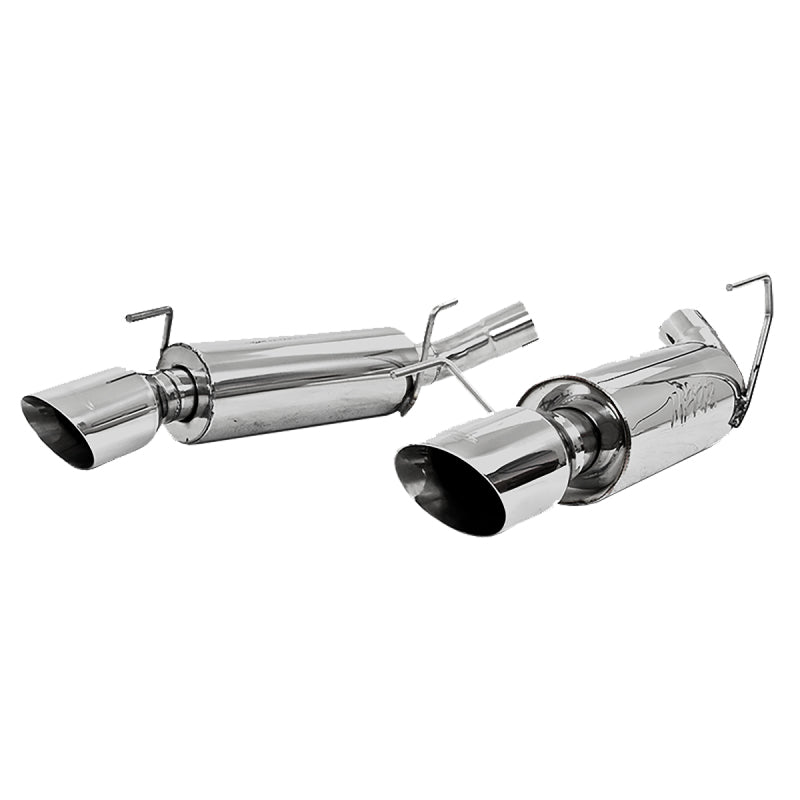 MBRP 05-10 Ford Mustang GT 5.0/Shelby GT500 Dual Mufflers Axle Back Split Rear T304