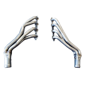 "TSP 2007.5-2013 GM Truck/SUV, 2WD & 4WD 1-3/4"" Stainless Steel Long Tube Headers with Y pipe"