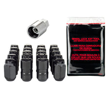 Load image into Gallery viewer, McGard 5 Lug Hex Install Kit w/Locks (Cone Seat Nut) M14X1.5 / 22mm Hex / 1.635in. Length - Black