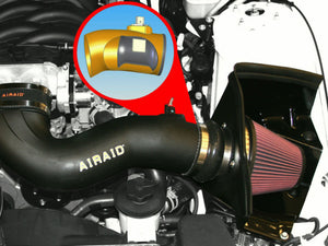 Airaid 05-09 Mustang GT 4.6L MXP Intake System w/ Tube (Oiled / Red Media)